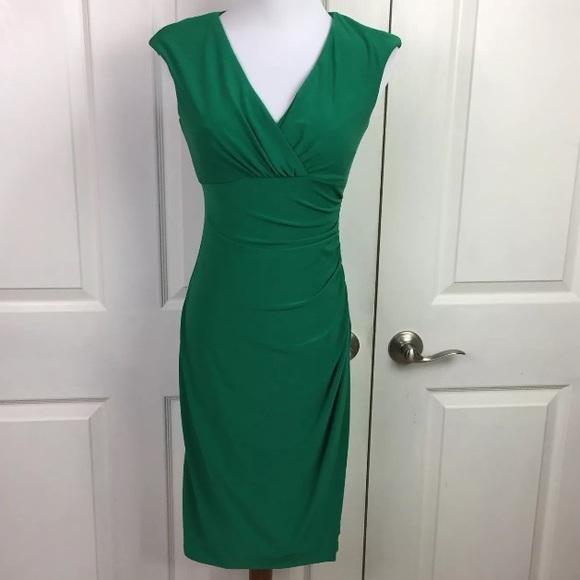 16404ef9d324c Lauren Ralph Lauren Dresses   Skirts - Lauren Ralph Lauren Sleeveless  Ruched Dress